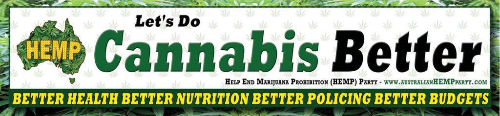 Hemp party ad