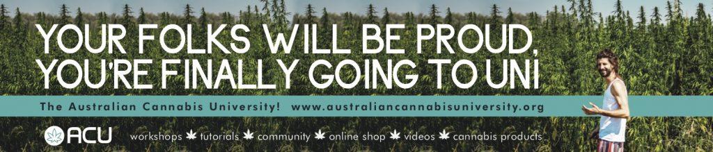 Australian Cannabis University banner copy